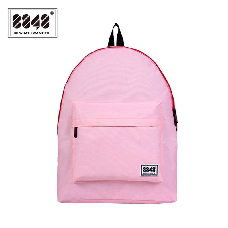 Black Backpack Casual Travel Shopping 15 L Capacity Resistant High Quality School Bags Simple Solid Pattern Fashion S15022-1