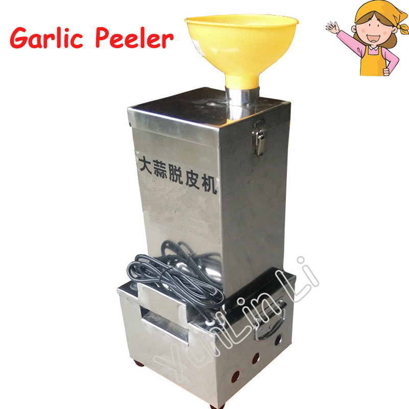 Electric Garlic Peeling Machine Stainless Steel Garlic Peeler for Small Capacity/ Convenient Garlic Peeling Machine TJ-02 electric garlic peeler automatic garlic peeling machine stainless steel fast garlic peel commercial garlic peeler ysgp 25