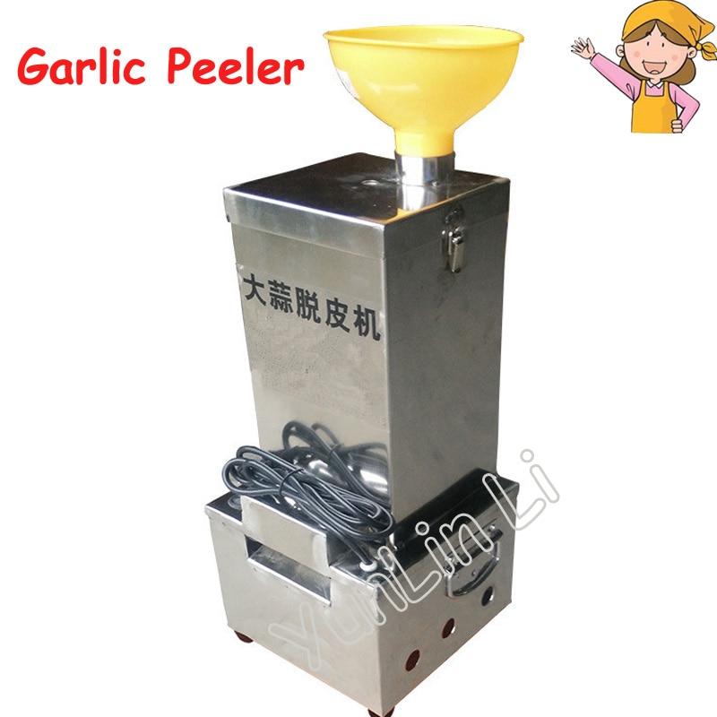 Electric Garlic Peeling Machine Stainless Steel Garlic Peeler for Small Capacity/ Convenient Garlic Peeling Machine TJ-02 green convenient manual apple peeler