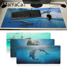 MaiYaCa Top Quality Dolphins under the sea gamer play mats animal Mousepad Design Pattern Computer Mousemat Gaming Mouse Pad