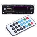 Car USB MP3 Player Integrated Bluetooth Hands-free MP3 Decoder Board Module ZTV-M01BT Remote Control USB FM AUX Radio For Car