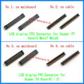 FPC LCD Display Connector Port Plug on Mainboard/flex cable for Huawei Ascend P6 P7 Honor 6 4X X1 Honor6/4X/X1 Mate7/8 MT7 MT8