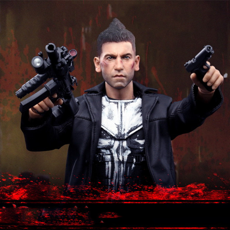 1/6 Scale Daredevil Movable Full Set Action Figures Frank Castle Jon Bernthal Punisher Figures Head&Body&Clothes and Ac daredevil volume 1