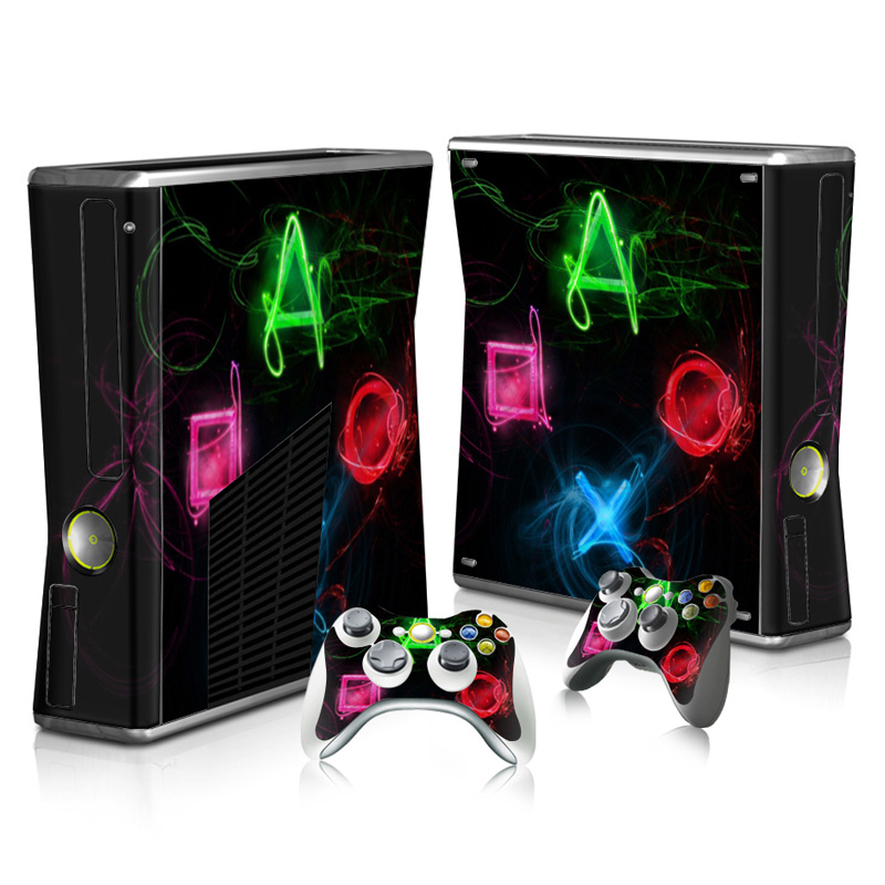 Faceplates, Decals & Stickers Gow 210 Vinyl Decal Cover Skin Sticker For Xbox360 Slim And 2 Controller Skins Punctual Timing Video Game Accessories