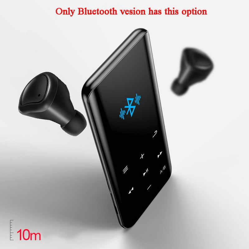 Vandlion X5 bezstratny odtwarzacz muzyczny MP4 HIFI sport Walkman Radio FM E-book stoper wideo wbudowany głośnik MP 3 4 rejestrator audio