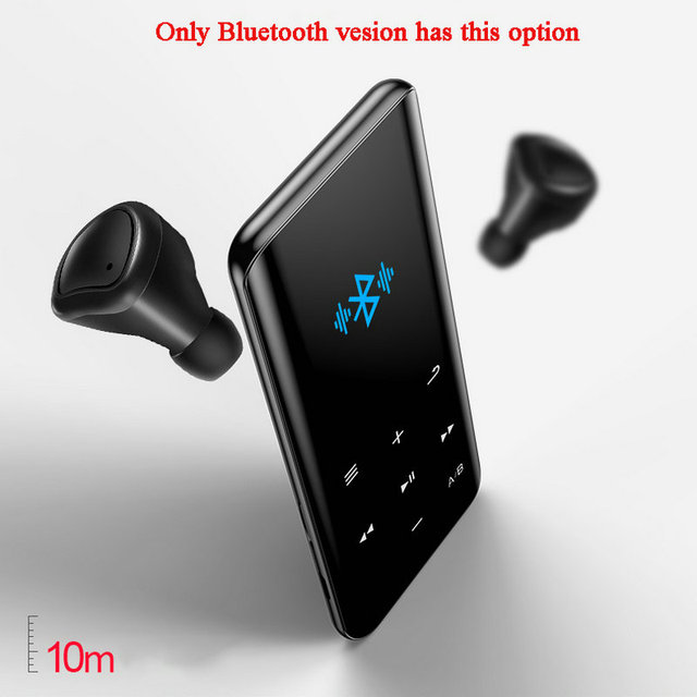 Vandlion X5 lossless MP4 Music Player HIFI Sports Walkman FM Radio E-book Stopwatch Video Built-in Speaker MP 3 4 Audio Recorder