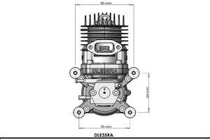Image 5 - DLE 35 RA محرك الغاز الأصلي للحصول على نموذج طائرة رائجة البيع ، lil35ra ، DLE ، 35 ، RA ، DLE 35RA