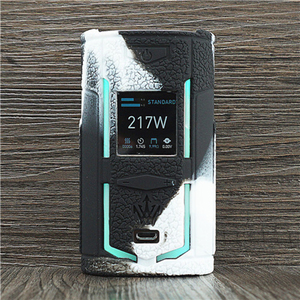 Image 3 - Texture Case for VooPoo X217 217W TC Box Mod Protective Silicone Sleeve Cover Wrap fit VOOPOO Woody Vapes X 217