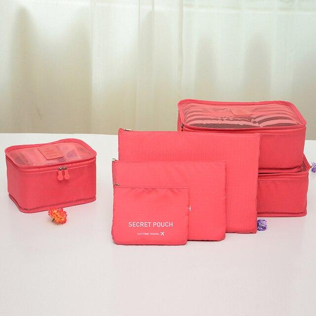 Kleding Cosmetische Reisbagage Multifunctionele Tas Zakken 27nieuwe Verpakking Case 6 Stksset Compressie Us14 Sorteren Opslag Kul1JTFc3