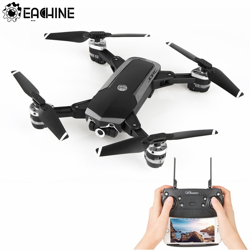 Eachine JD-20S JD20S WiFi FPV Drones Plegable 2MP Cámara HD con 18 Minutos de Tiempo de Vuelo RC Quadcopter RTF