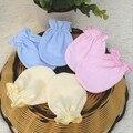 2017 de Luva Do Bebê Dos Desenhos Animados Padrão Anti-agarramento Luvas de Proteção Rosto 100% Algodão Anti Coçar Luvas