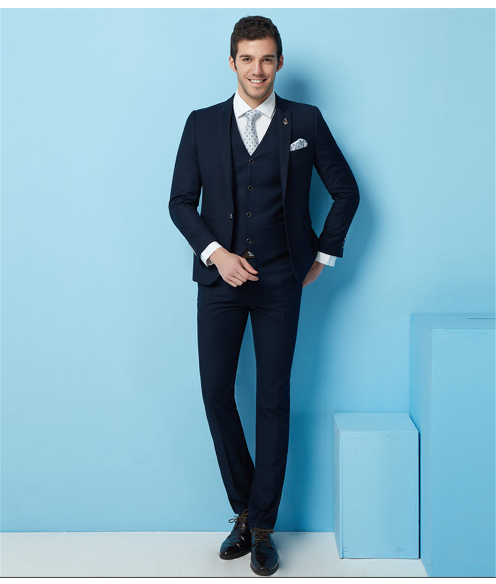 Old Fashioned Navy Blue Groom Suit Frieze - Wedding Dress Ideas ...