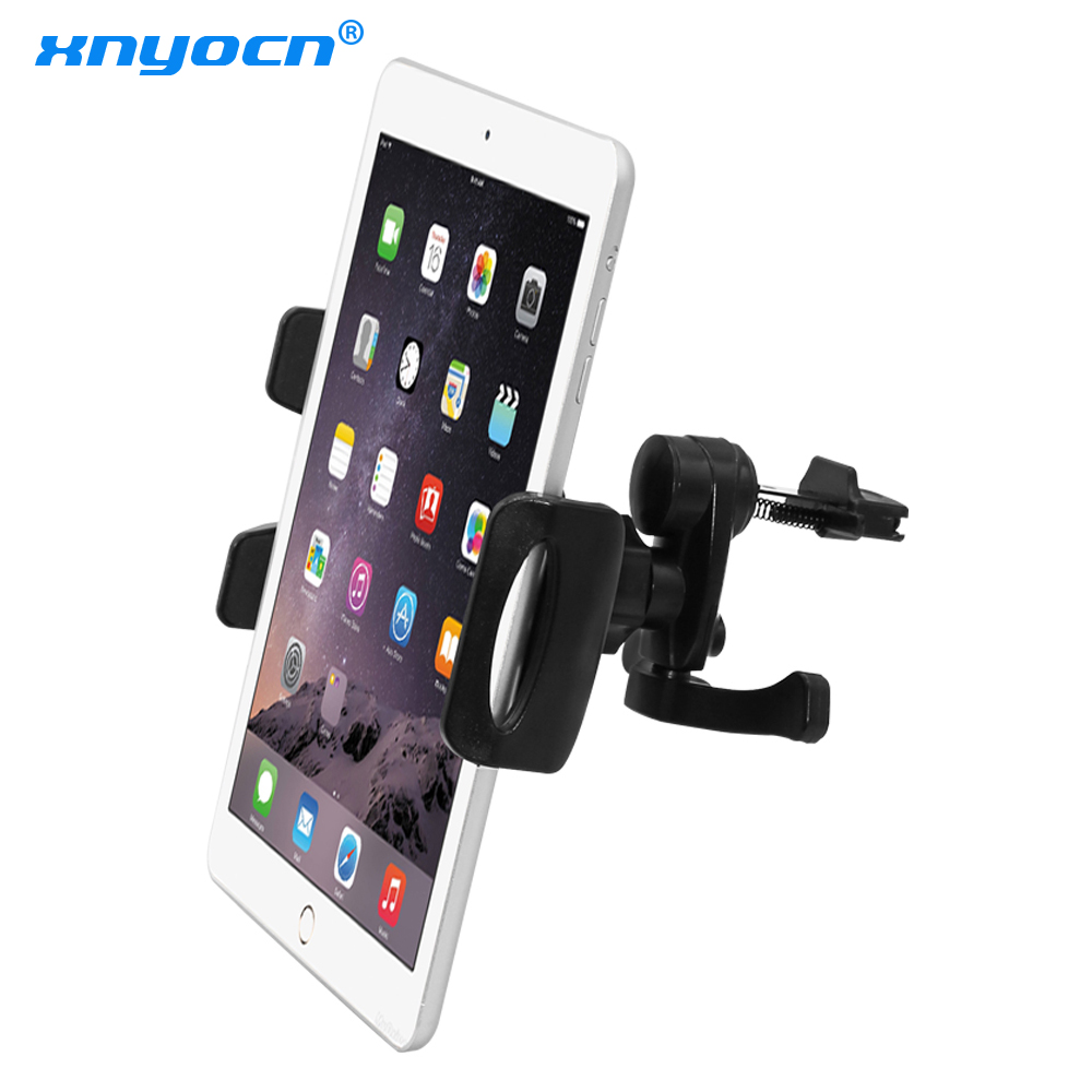 Universal 7 8 9 10 11 Tablet Car Air vent Holder Mount Stand Vent Holder For iPad 2 3 Air Tablet PC Soporte Tablet For Samsung