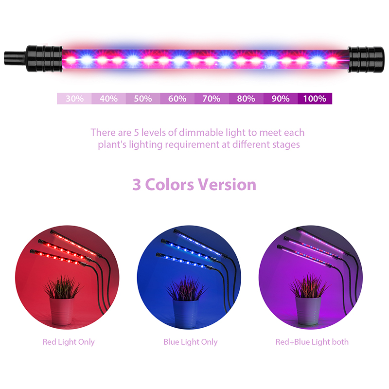 Goodland LED Grow Light USB Phyto Lamp Full Spectrum Fitolampy With Control For Plants Seedlings Flower Indoor Fitolamp Grow Box 4