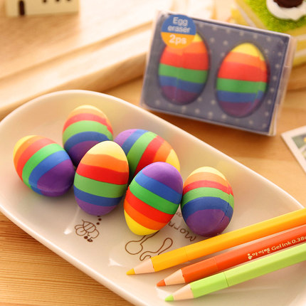 Korea stationery creative colorful erasers easter eggs erasers korea stationery creative colorful erasers easter eggs erasers stationery school students rewards fantastic children gifts pl negle