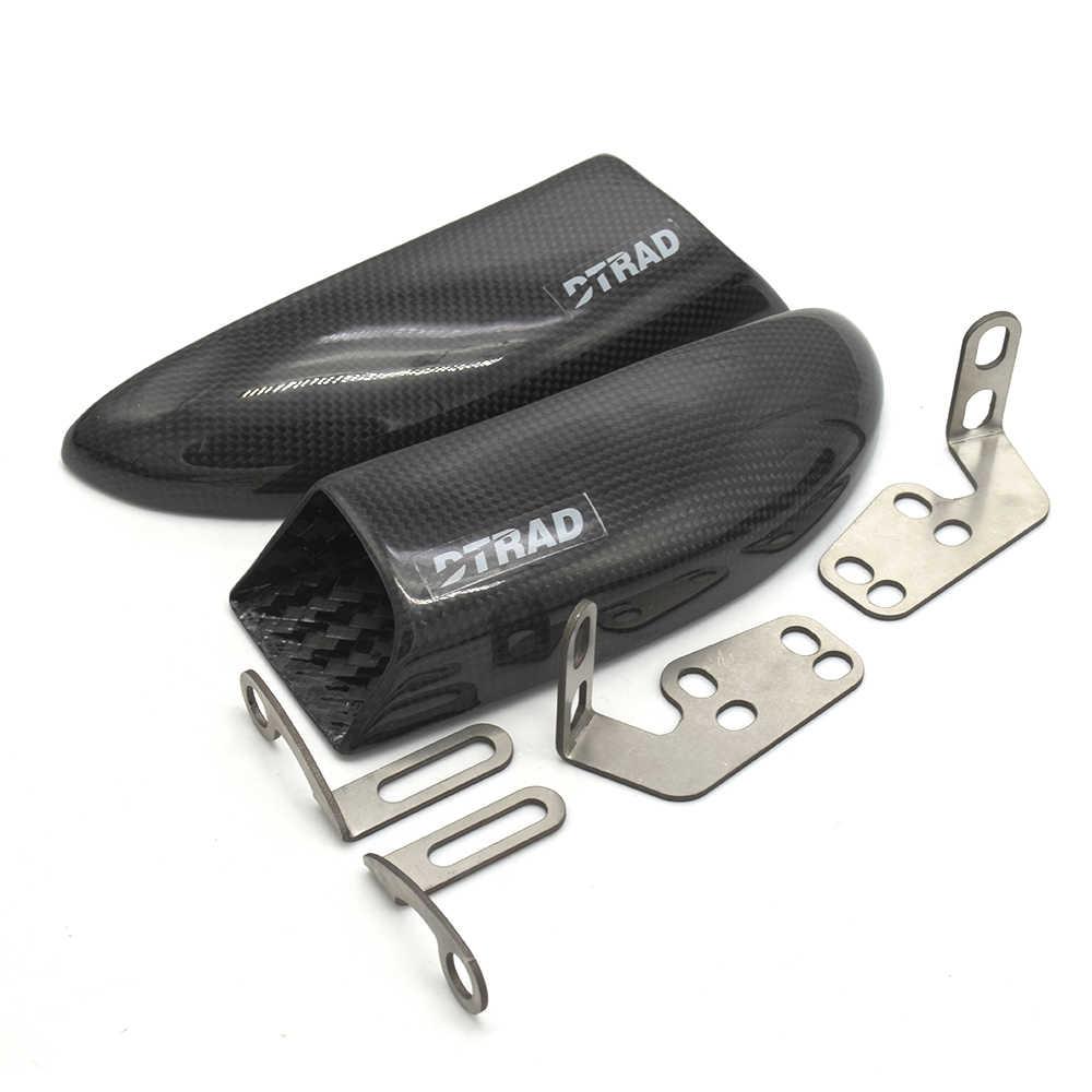 DTRAD MOTO จักรยานเบรค Air ท่อ Cooling สำหรับ DUCATI MONSTER 1100 EVO 2011-2013 MONSTER 1100 ดีเซล 12-13 คาร์บอนไฟเบอร์