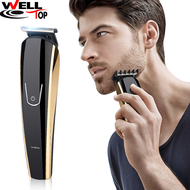 Professional Electric Men Shaver Rotary Shaver Cordless Beard Clippers Nose Hair Trimmer Men's Hair Trimmer Rechargeable Battery men s rechargeable rotary electric shaver