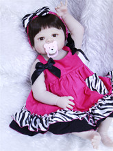 Moda boneca reborn silicona completa realista muñeca de juguete 55cm real niñas bebés lol muñecas chico bebe reborn Brinquedos Juguetes l o l