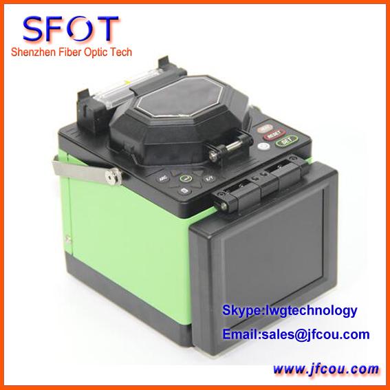 T40 FTTH Fibra Óptica fusionadora con Cuchilla de la Fibra, separador de fibra Óptica