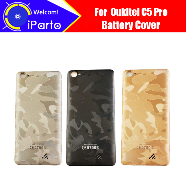 5.0 inch Oukitel C5 Pro Battery Cover 100% Original New Durable Back Case Mobile Phone Accessory for C5 Pro cell phone
