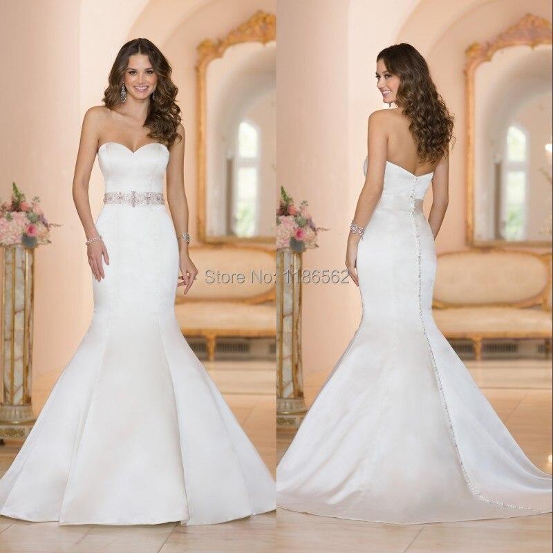 vestidos de novia sexy 2016 bridal dresses chapel train 2017 ...