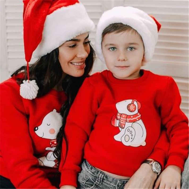 Detail Feedback Questions about Emmababy Family Matching Outfits Christmas  Clothes Top Nightwear Sleepwear Pajamas Newly Mother Father Kid Leisure  Clothing ... e8bde8fcb
