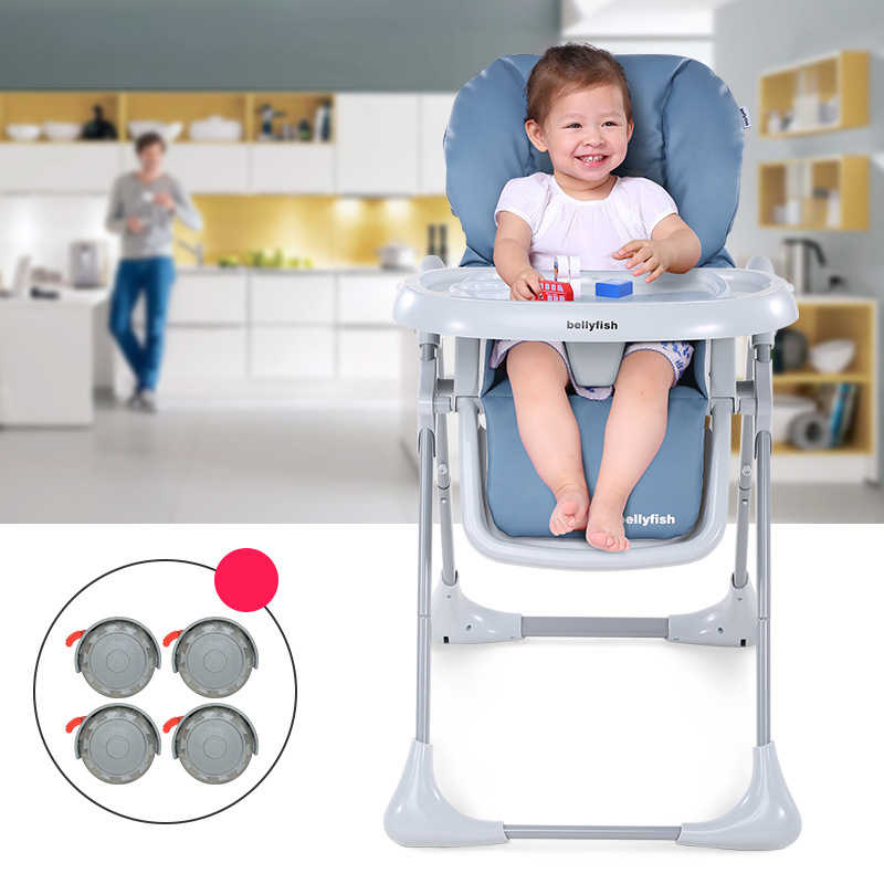 c90e6ec8039 New Brand Folding Kids Chair Seat Adjustable Baby High Chair For Baby Under  4/With