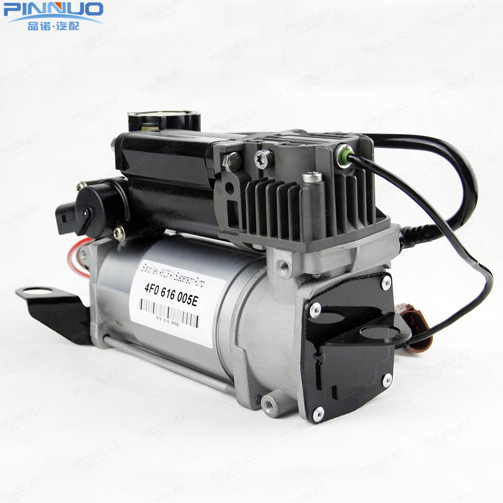 US $289 0 |Factory Sale Air Suspension Air Compressor WABCO 4F0616005E Air  Suspension Pump For Audi A6 4F C6 2004 2009 4F0616005E-in Shock Absorber