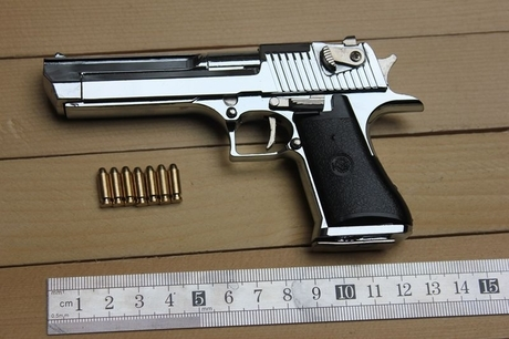 1: 2.05 Desert Eagle pistol model,full metal guns toy, gun model,  -  GreatMallChina,Ltd store
