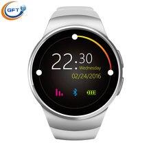 GFT kw18 smart uhr NFC bluetooth tragbare geräte Smartwatches Unterstützung Sim Karte MP3 Für Samsung Huawei ios Android-handy