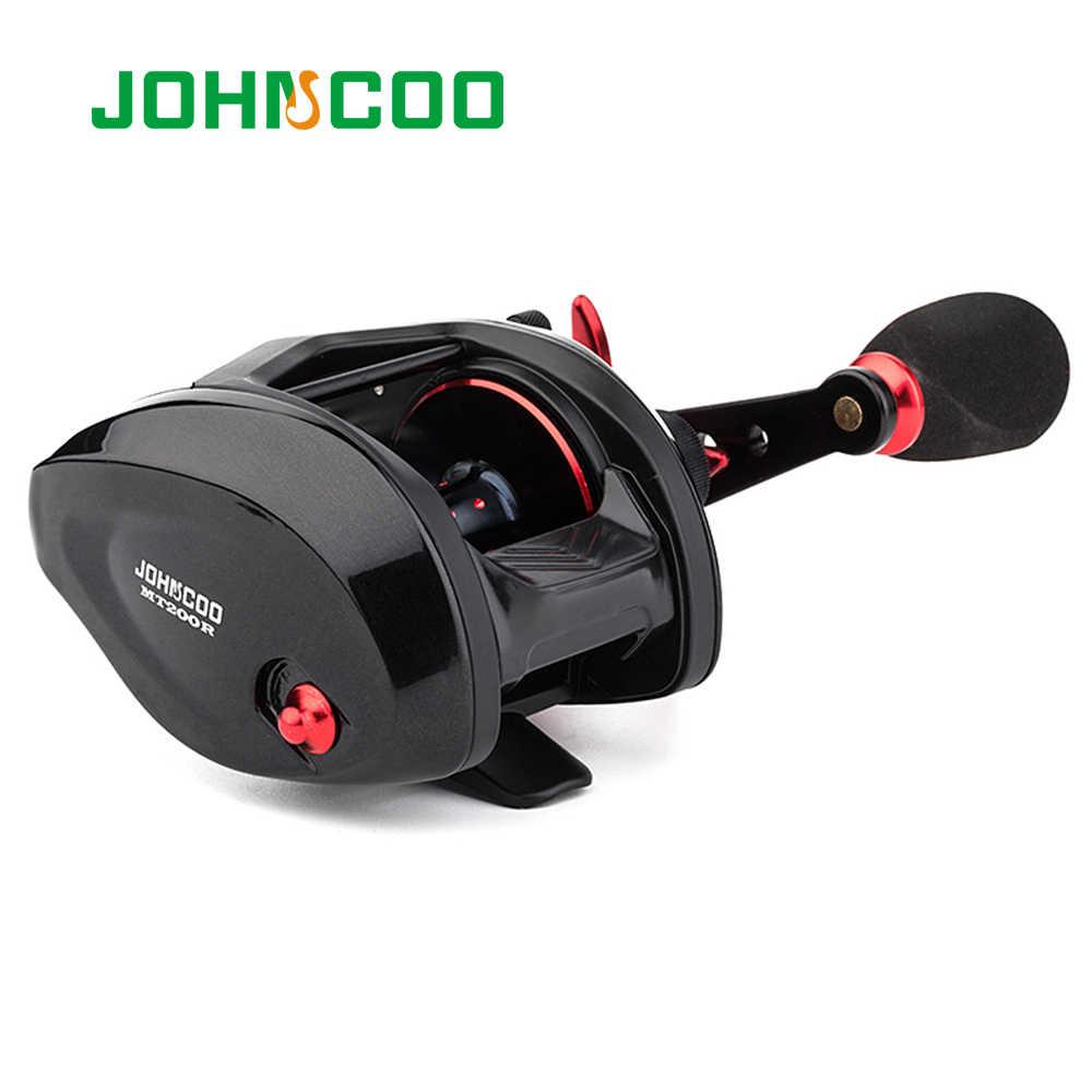 JOHNCOO 餌鋳造リールビッグゲーム 13 キロ最大ドラッグ海釣りジグリール 11 + 1 BB 7.1: 1 アルミ合金ボディジギング釣りリール