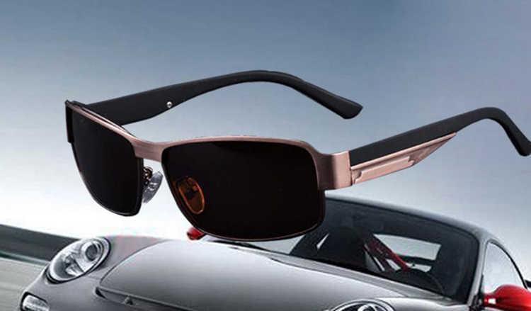 2016 новое поступление Модная и прелестная металлическая оправа синяя пленка поляризованные мужские солнцезащитные очки