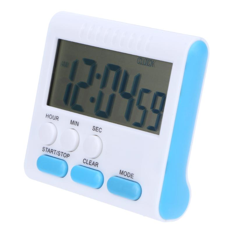 Electric LCD Kitchen Timer Digital Alarm Count Up Down Clock Back Stand Practical Cooking Timer Kitchen Tool