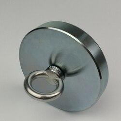 600 кг Неодимовый N52 магнит сильный Мощный круглый крючок с кольцом Aimant спасательные магниты глубоководная рыбалка охота за сокровищами Imanes