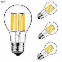 IWHD A19 Industrial Decor Lampara Vintage Lamp E27 220V Ampoule LED Edison Bulb Retro Lamp Light Bulb Ampul Bombilla Gloeilamp