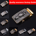Factory Outlet crocodile head high quality alloy scalp buckle belt buckle head men's business casual belt