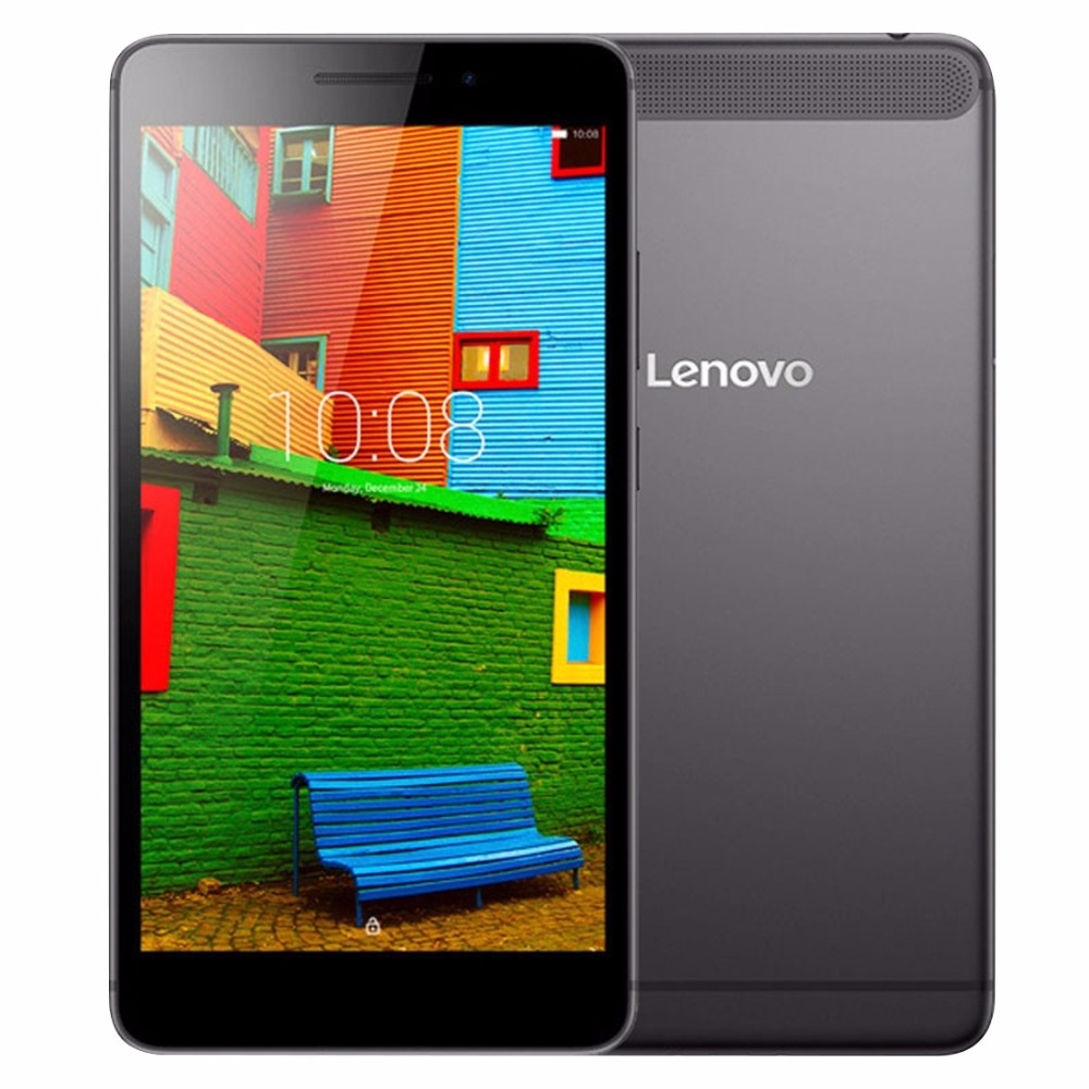 Original Lenovo PB1-750N 6.98 inch Qualcomm MSM8916 QC Quad-Core Android 5.1 OS RAM 1GB ROM 16GB Tablet PC GPS Black