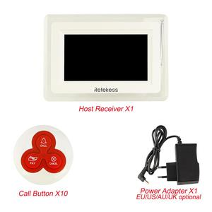 Image 5 - Retekess T114 Restaurant Pager Wireless Calling System Host Display+10 Table Bells Call Button Customer Service F9405B