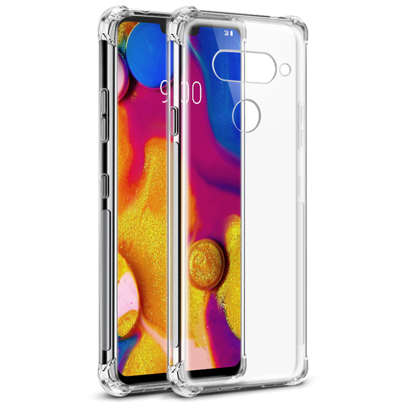 Image 2 - Clear Soft Shockproof Cover Case For LG G6 G7 G8S ThinQ W10 W30 Stylo 3 4 5 K9 K40 K50 Q60 V20 V30 V40 V50 K8 K10 2017 Case-in Phone Bumpers from Cellphones & Telecommunications