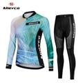 Женская велосипедная Джерси, одежда для горного велосипеда с длинными рукавами, одежда для шоссейного велосипеда, рубашка для езды, командн...