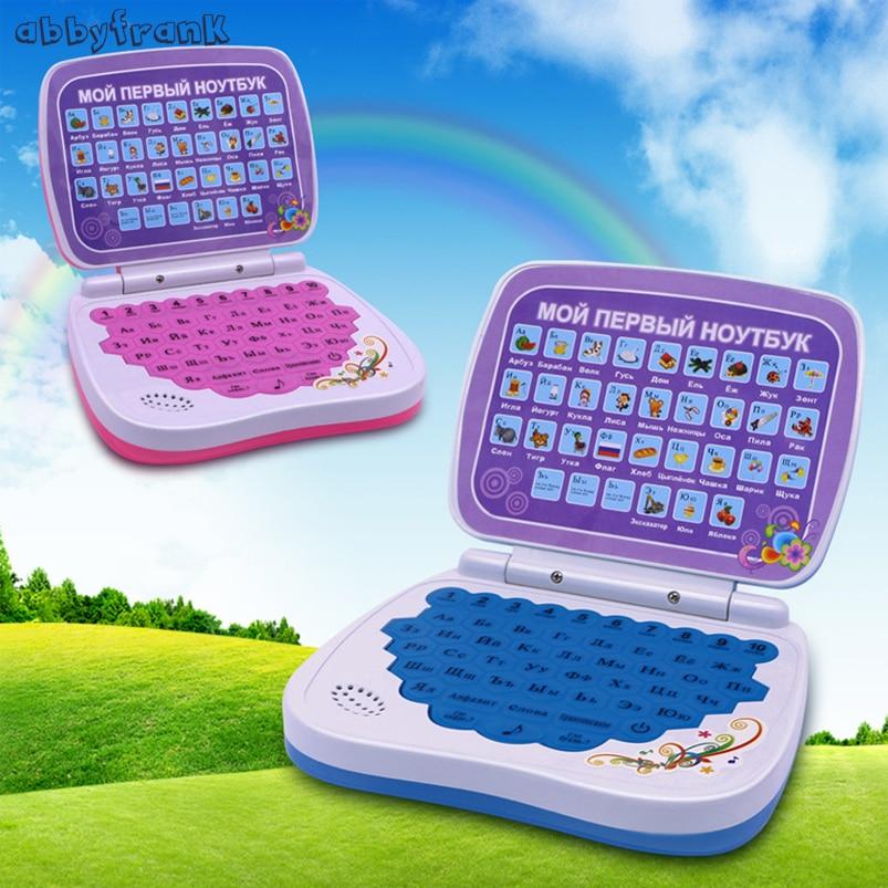 Abbyfrank Russian Language Learning Vocal Computer Russische Alphabet Aussprache Lernen Bildung Spielzeug Computer Kid Laptop