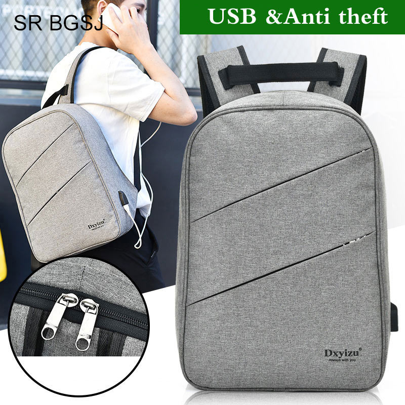 Free Shipping (USB Charge Interface) Valentines Day gift Unisex Man Woman Polyester School Student USB BackpackFree Shipping (USB Charge Interface) Valentines Day gift Unisex Man Woman Polyester School Student USB Backpack