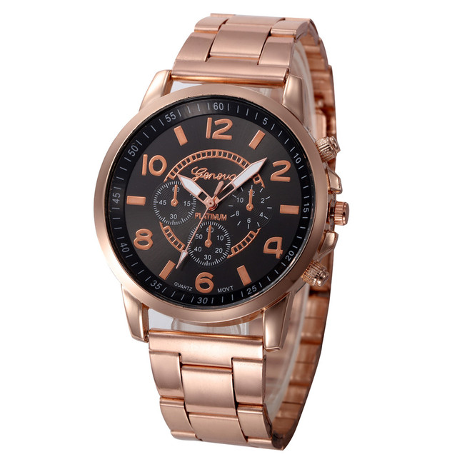 Women watches 2018 luxury brand Stainless Steel Sport Men Women Quartz Hour Wris