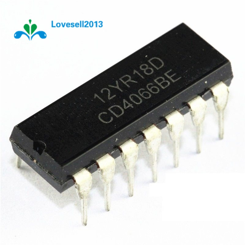 10 PCS CD4016BE DIP-14 CD4016 CMOS QUAD BILATERAL SWITCH