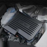 車のエンジン装飾フードカバー装飾エンジンダストカバーコンピュータ保護カバーアウディ A4 B9 8 ワット A5 2017 2018 2019 -