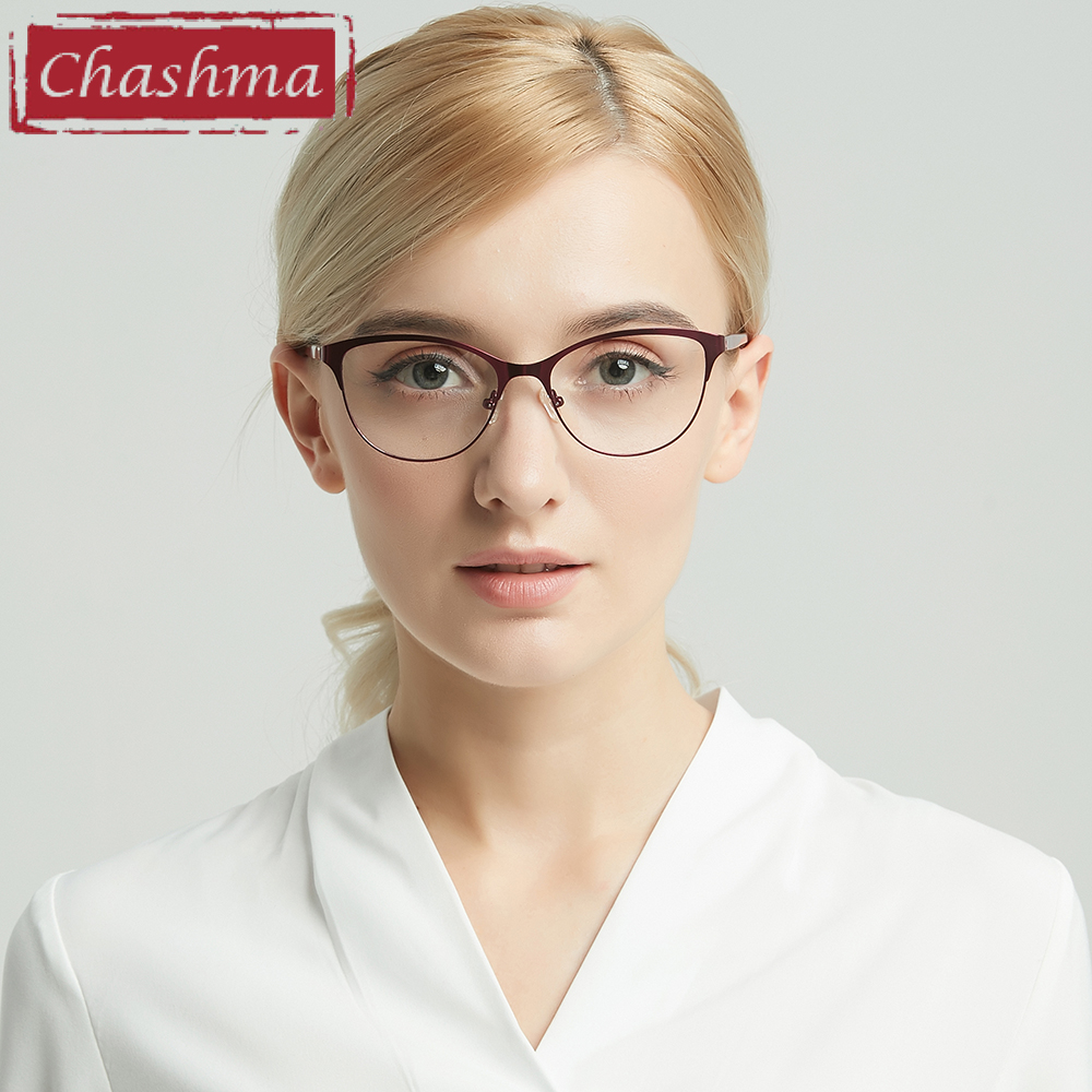 Prescription Glasses Women Anti Blue Ray Optical Glasses Frames Multifocal Progressive Photo Chromic Lenses Anti Reflective(China)