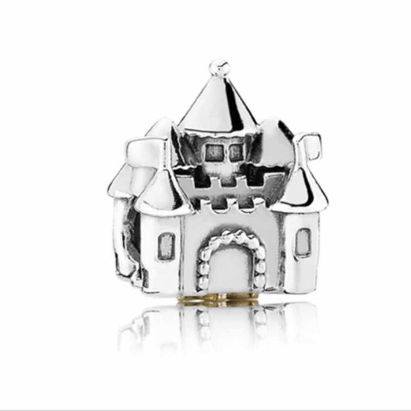 Nowy Retro srebrny DIY biżuteria wisiorki koraliki Fit pandora bransoletka i naszyjniki wisiorek z autentycznych koralików tworzenia biżuterii kobiet prezenty