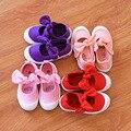 Размер 21-30 2017 весна Корейский ребенок холст shoes лук дети девушки холст принцесса shoes взрыв разделе детская casual shoes
