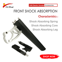 Front Shock Absorption for X48 Electric bike electric scooter 10inch powerful electric skateboard electric e bike e scooter|Scooter Parts & Accessories| |  -