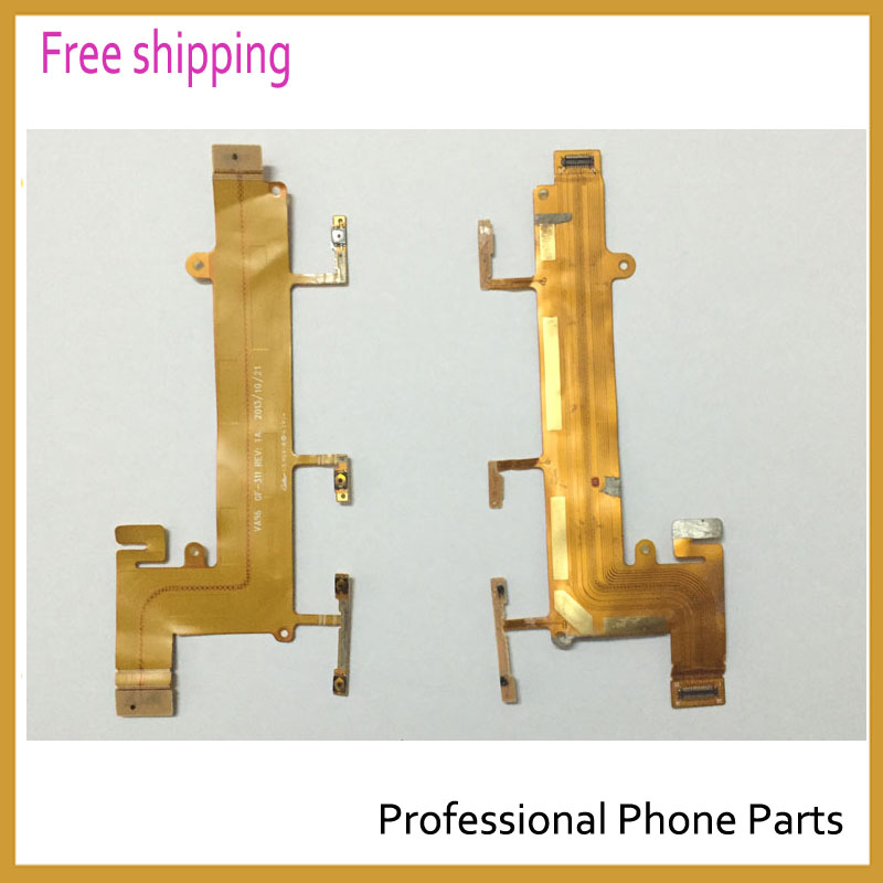 Original New Power On/Off Volume Button Flex Cable For <font><b>Nokia</b></font> Lumia <font><b>1320</b></font> Replacement <font><b>Parts</b></font> image